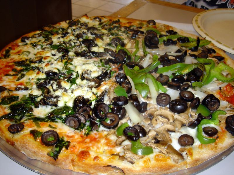 veggie valley pizza