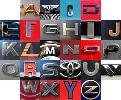 Car letters