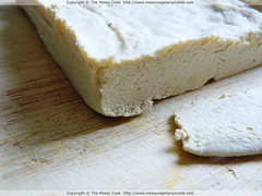 A Variation in Home Made Tofu Making Methods…