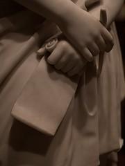 Sappho's Stylus & Papyrus (Washington, DC) (takomabibelot) Tags: sculpture pen hand stylus papyrus marble sappho scroll 1870 saam smithsonianamericanartmuseum annecarson nationalmuseumofamericanart vinnieream vinniereamhoxie fragment55