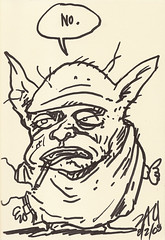 Yoda sketchbook Vol. 2 page 15 - Zak Sally