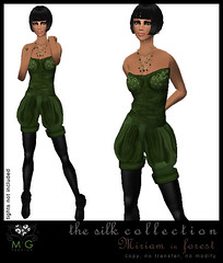 [MG fashion] The Silk Collection - Miriam (forest)