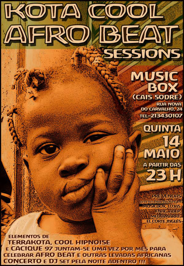 Kota Cool Afro Beat Sessions - Flyer
