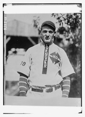 Pitcher Johnny King, Denver  (LOC) (The Library of Congress) Tags: uniform king baseball bears denver libraryofcongress pitcher minors pticher xmlns:dc=httppurlorgdcelements11 dc:identifier=httphdllocgovlocpnpggbain13378 johnnyking