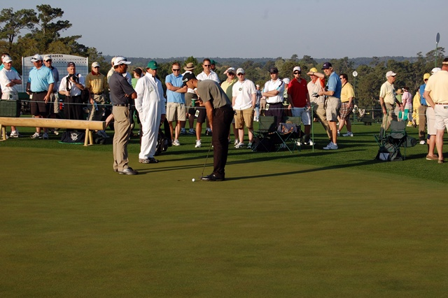 Geoff Ogilvy on Putting Green