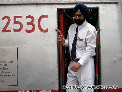 In India, the PAP guys are train drivers