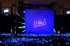 Opening, D.N.A. Mayday World Tour 2010 变形DNA五月天世界巡回演唱会, Singapore National Stadium