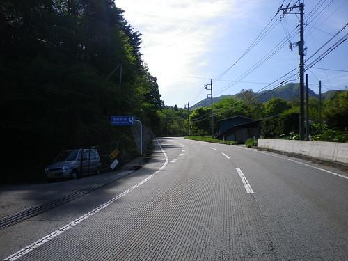 鳥坂峠の激坂部分