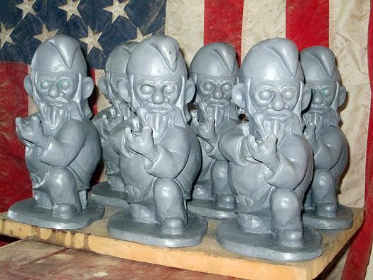 Gneeling Gnome Rifleman Squad