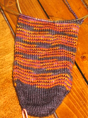 Socktoberfest in progress