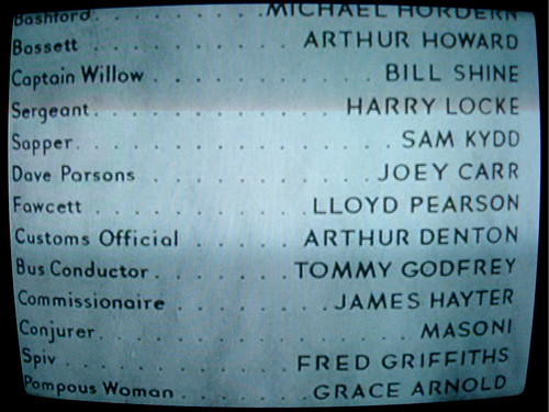 Old School Film Credits
