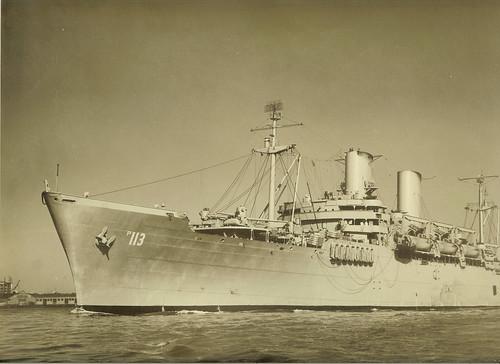 USS General H.W. Butner (AP-113)