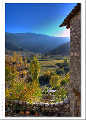 Vall de Cab. Alt Urgell. Catalunya (arturii!) Tags: road blue autumn trees orange brown mountain mountains tree green beautiful yellow vertical skyline composition rural wow landscape carpet town amazing europa europe paradise raw place natural path alt natura catalonia arbres vegetation catalunya form blau serra shape leak leafs arbre parc hdr catalua gettyimages groc verd forma fulla pirineus tardor taronja lleida paisatge vegetaci alturgell organya poble urgell catalogne cam photomatix lloc fulles serralada catifa marr prepirineus plataners abigfave anawesomeshot pyrynees cab scenicsnotjustlandscapes