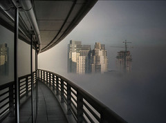 City in the sky ([Piuma + Charles]) Tags: niebla puertomadero piso19 tucuman1