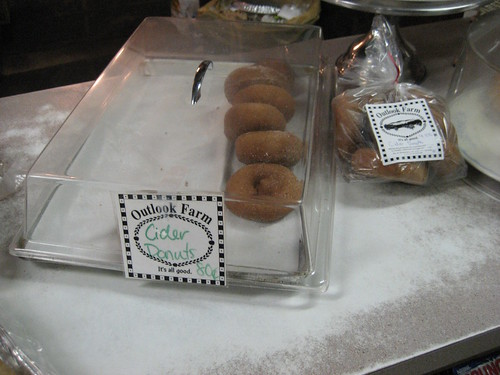 cider donuts, Outlook Farm