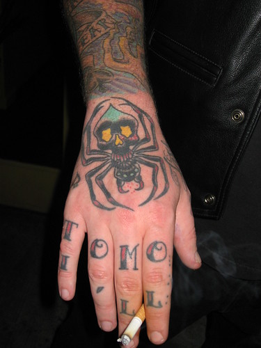Tony#39;s Hand Tattoo by Jef