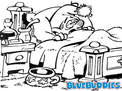 Smurfs_Picture_Sick_Smurf