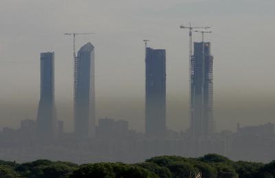 Contaminacion en Madrid