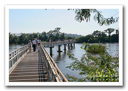 cerrada la pasarela de la Garganta del Diablo en Iguazú