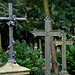 Cross headstones