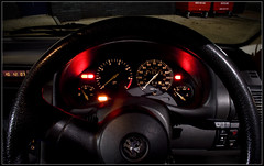 Vauxhall Corsa B - Dashboard (Daniel Hodson) Tags: uk b light england dan car night canon dark eos 350d long exposure flickr unitedkingdom daniel aib automotive peter dorset canon350d canoneos350d bournemouth freelance vauxhall hodson visualcommunication corsab hoddo artsinstitutebournemouth danielpeterhodson danielhodson theartsinstitutebournemouth dhodson wwwdanielhodsoncouk httpwwwdanielhodsoncouk