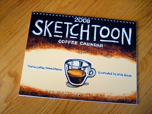 Sketctoon Coffee Calendar (Cover)