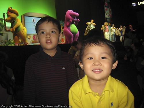 Barney Live