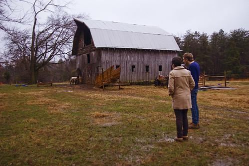 Tristan's family's farm
