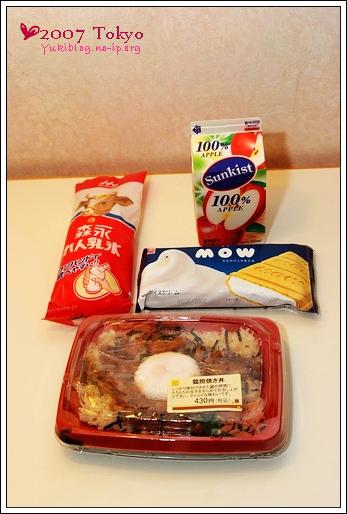 [2007東京見]Day4&Day5~ NewDays&LUMINE晚餐+點心+消夜