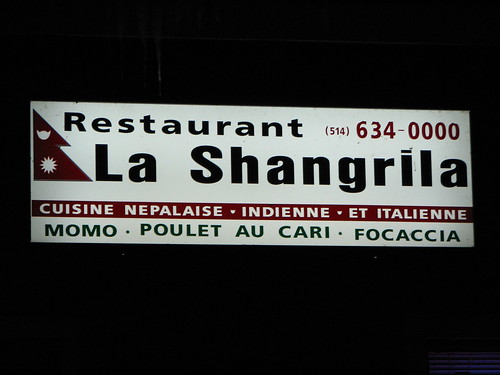 La Shangrila in Lachine, Qc