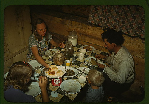 Poor Family from the 1940s