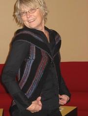Front of pinwheel vest