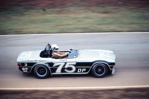 Paul Newman Alla guida di una triumph TR6