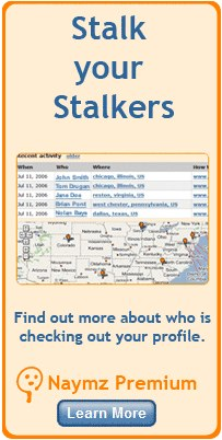Naymz: Stalk your Stalkers