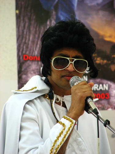 Impersonating Elvis