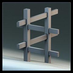 Impossible Posts (Josh Sommers) Tags: fence searchthebest maya render posts haustier umzug day34 impossible elimanning feb3 superbowlsunday pcgames xlii hotgame sexypants nygiants puppybowl weekendamerica newgame day034 superbowlxlii funnygame superbowl2008 superbowl42 mdpd200802 thingaday2008