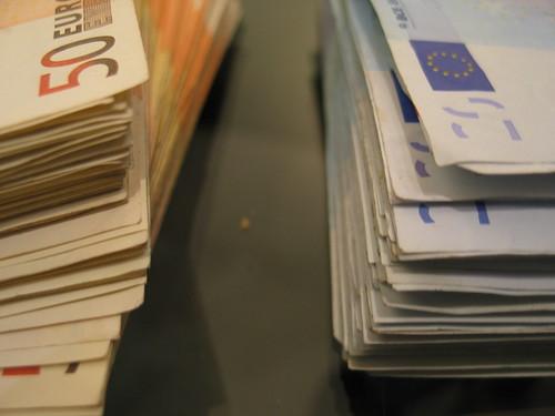 Euro banknotes - foto di Axolot
