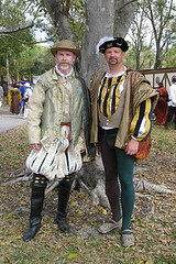 My friend Robert and me at the Florida Renaissance Festival (jrozwado) Tags: usa florida deerfieldbeach renaissancefestival floridarenaissancefestival