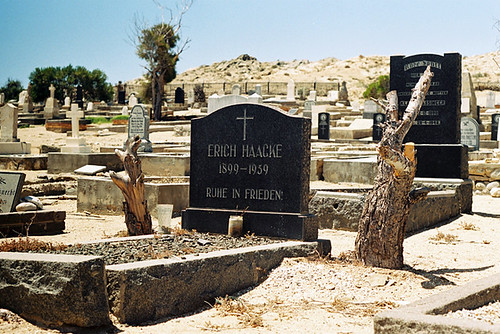 Lüderitz Cemetery, Lüderitz, Namibia by Mandy J Watson, on Flickr