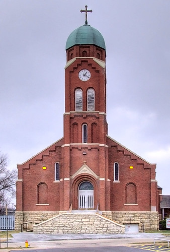 Saint Joseph Roman Catholic Church, in Bonne Terre, Missouri, USA - exterior