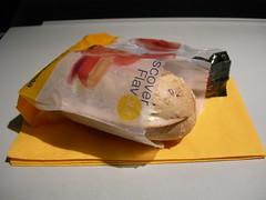 In-flight snack: Lufthansa LH4764 MUC-LHR