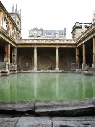 Baños Romanos En Inglaterra:Los baños romanos de Bath en Inglaterra