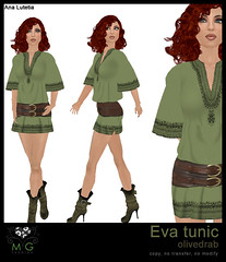 [MG fashion] Eva tunic (olivedrab)