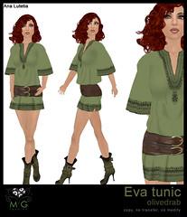 [MG fashion] Eva tunic (olivedrab)