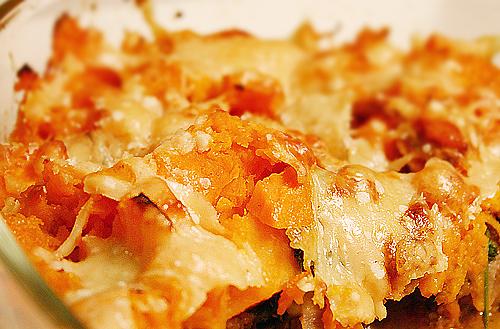 肋眼牛排甜薯派-080325