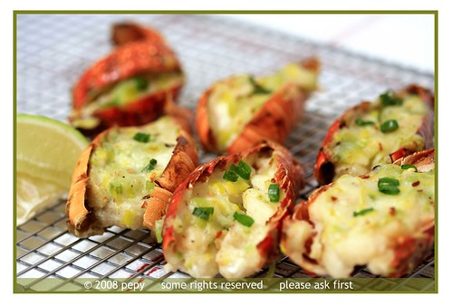 Lobster Tail Thermidor 4