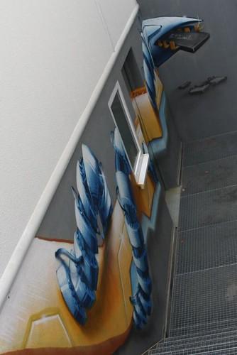 Auftrags Graffiti in Bergischgladbach