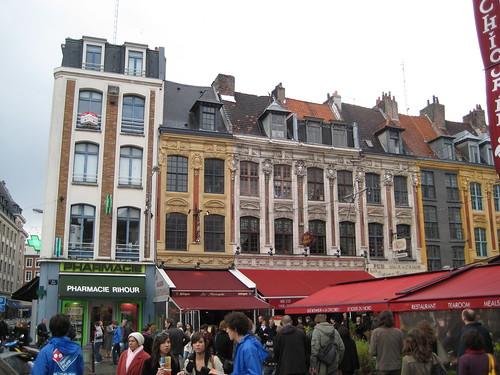 Lille – Place Rihour por Herbaltablet.