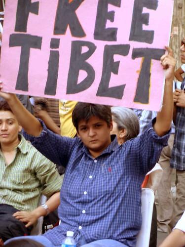 Standing for Tibet