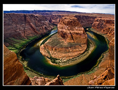 Horseshoe Bend point (Juan The Fly Factory) Tags: madrid usa photography fly utah photo spain factory juan bend fotos horseshoe fajardo fotografo perezfajardo ysplix flyfactory